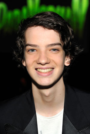 "Kodi Smit-McPhee at the world premiere of ""ParaNorman"" in California."