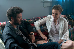 "Josh Radnor as Jesse and Elizabeth Olsen as Zibby in ""Liberal Arts."""