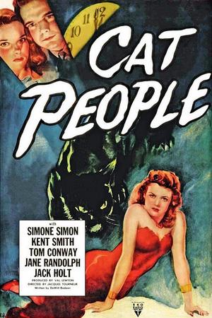 """Poster art for """"Cat People."""""""