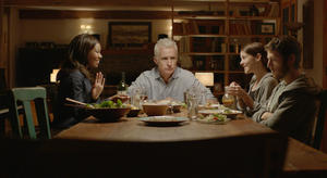 "Gabrielle Union, John Slattery, Jena Malone and Zach Gilford in ""In Our Nature."""