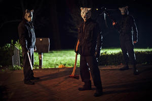 "A scene from ""You're Next."""
