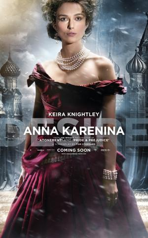"Poster art for ""Anna Karenina."""