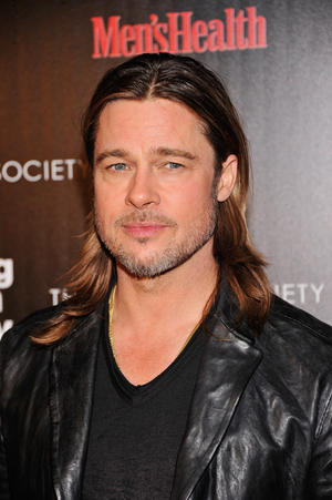 "Brad Pitt at the New York premiere of ""Killing Them Softly."""