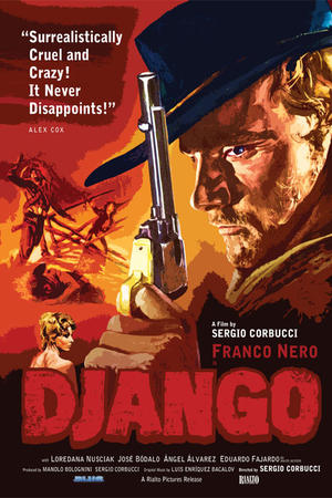 "Poster art for ""Django."""