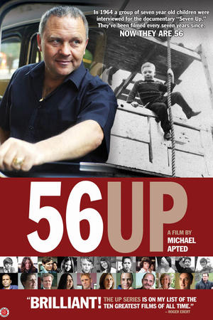 """Poster art for """"56 Up."""""""