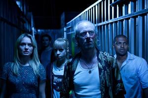 "Laura Haddock, Colin O'Donoghue, Antonio Campbell Hughes, Ned Dennehy and Noel Clarke in ""Storage 24."""