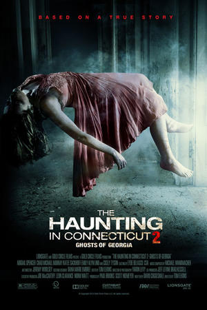 "Poster art for ""The Haunting in Connecticut 2: Ghosts of Georgia."""