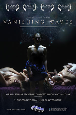 "Poster art for ""Vanishing Waves."""