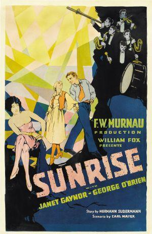 "Poster art for ""Surise: A Song of Two Humans."""
