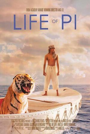 """Poster art for """"Life of Pi."""""""