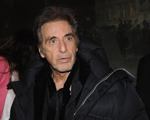 "Al Pacino at the New York premiere of ""Stand Up Guys."""