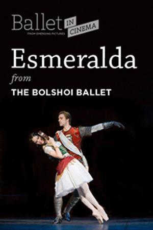 """Poster art for """"Bolshoi Ballet's Esmeralda."""""""