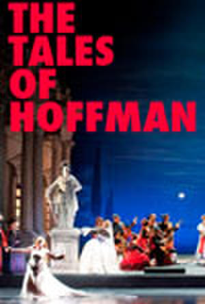 "Poster art for ""The Tales of Hoffman."""