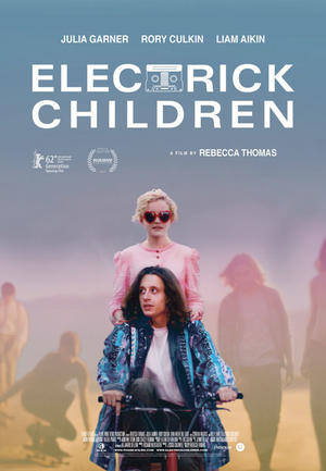 "Poster art for ""Electrick Children."""