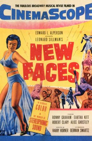 "Poster art for ""New Faces."""
