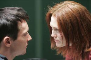 """Jonathan Rhys-Meyers and Julianne Moore in """"6 Souls."""""""