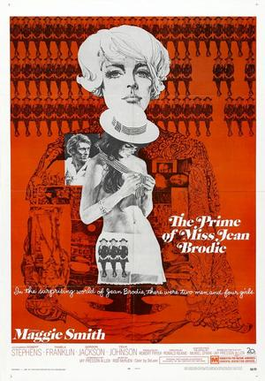 """Poster art for """"The Prime of Miss Jean Brodie."""""""