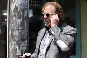 "Mickey Rourke in ""Java Heat."""