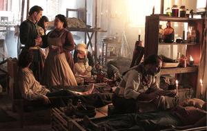 """Kuno Becker as General Ignacio Zaragoza and Angelica Aragon as Dona Soledad in """"Cinco de Mayo: The Battle."""""""