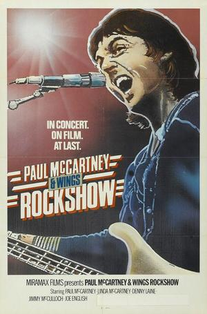 "Poster art for ""Rockshow."""