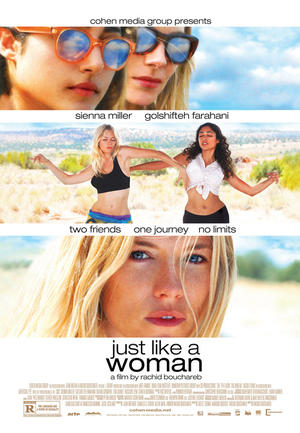 "Poster art for ""Just Like A Woman."""