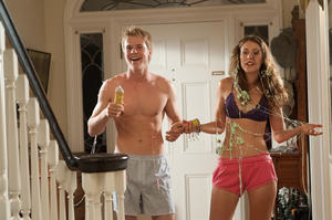 "Graham Rogers and Amanda Crew in ""Crazy Kind of Love."""
