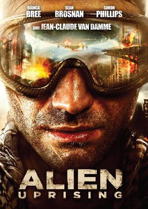 """Poster art for """"Alien Uprising."""""""