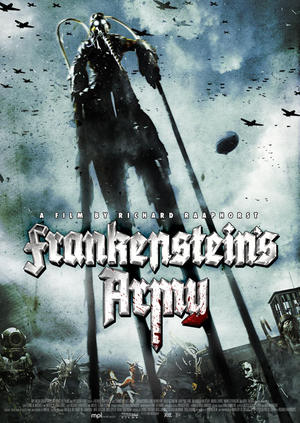 "Poster art for ""Frankenstein's Army."""