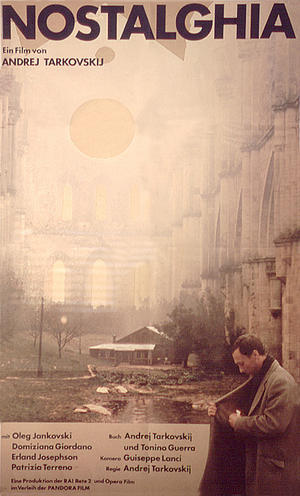 "Poster art for ""Nostalghia."""