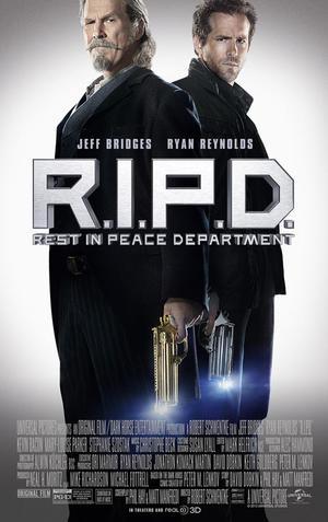 "Poster art for ""R.I.P.D. 3D."""