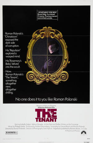 "Poster art for ""The Tenant."""