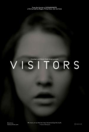 "Poster art for ""Visitors."""
