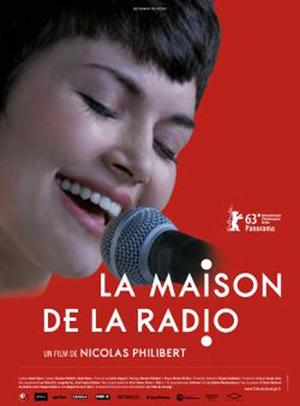 "Poster art for ""La maison de la radio."""