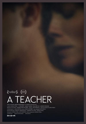 "Poster art for ""A Teacher."""