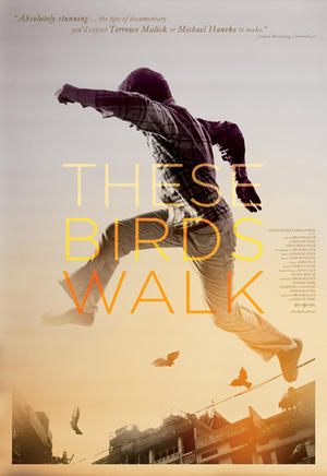 "Poster art for ""These Birds Walk."""
