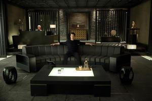 "Keanu Reeves in ""Man of Tai Chi."""