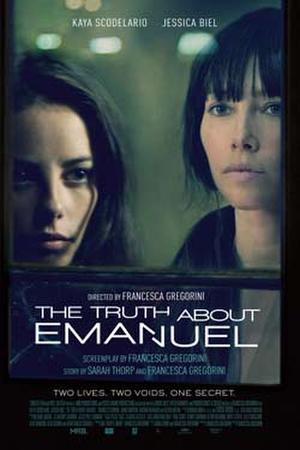 "Poster art for ""The Truth About Emanuel."""