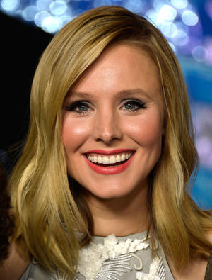 "Kristen Bell at the California premiere of ""Frozen."""