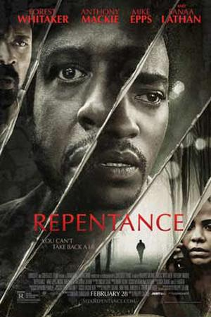 "Poster art for ""Repentance."""