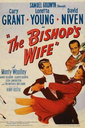 "Poster art for ""The Bishop's Wife."""