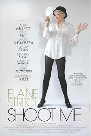 "Poster art for ""Elaine Stritch: Shoot Me"""