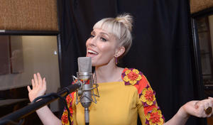 "Singer Natasha Bedingfield sings for the official soundtrack of ""The Pirate Fairy"""