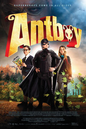 """Poster art for """"Antboy"""""""