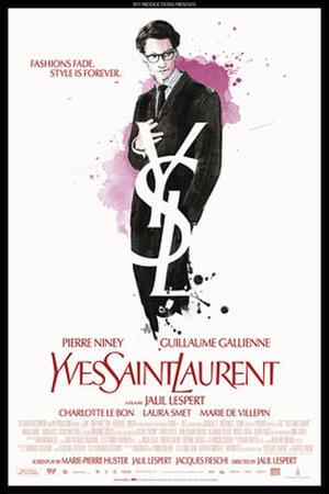 """Poster art for """"Yves Saint Laurent"""""""