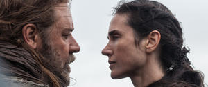 "Russell Crowe and Jennifer Connelly in ""Noah."""