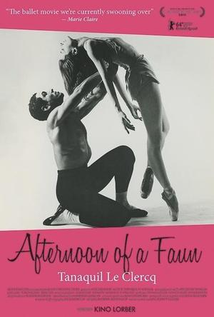 """Poster art for """"Afternoon of a Faun."""""""
