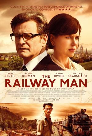 "Poster art for ""The Railway Man."""
