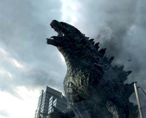 Monstrous photos of 'Godzilla'