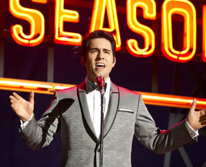 "John Lloyd Young as Frankie Valli in ""Jersey Boys."""