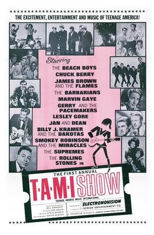 "Poster art for ""The T.A.M.I. Show."""